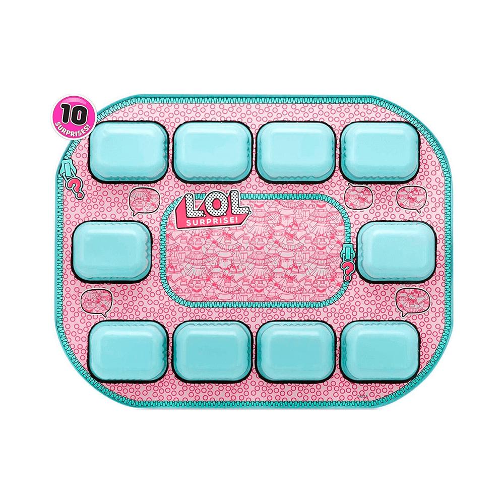 Кукла LOL Bigger Surprise (розовый чемоданчик 60 сюрпризов) - 4