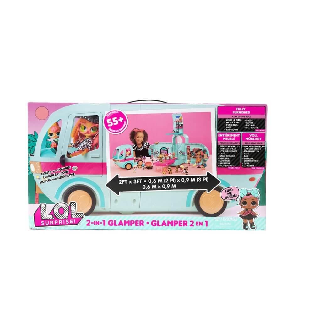 LOL Surprise Glamper - Автобус с куклой ЛОЛ внутри